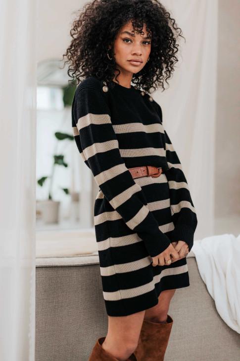 Black Bohemian Dress