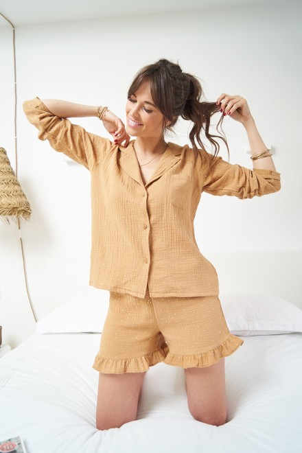 The Emma camel pajamas