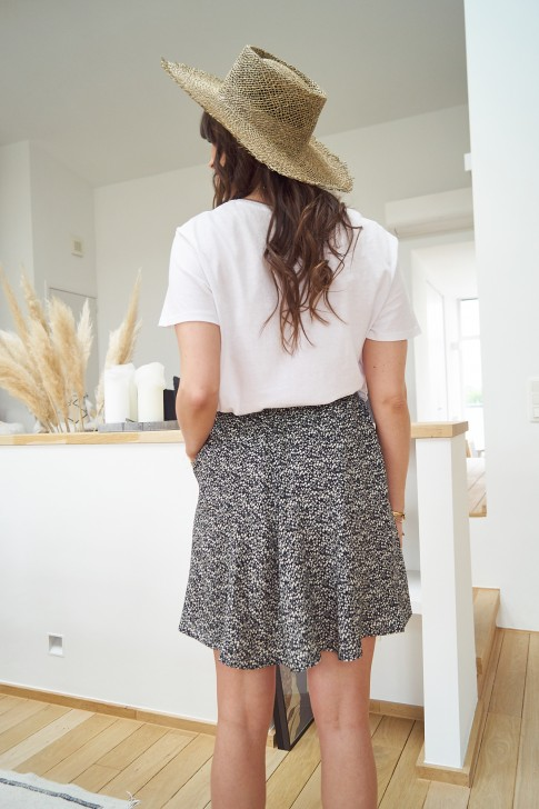 Black Bérénice Skirt