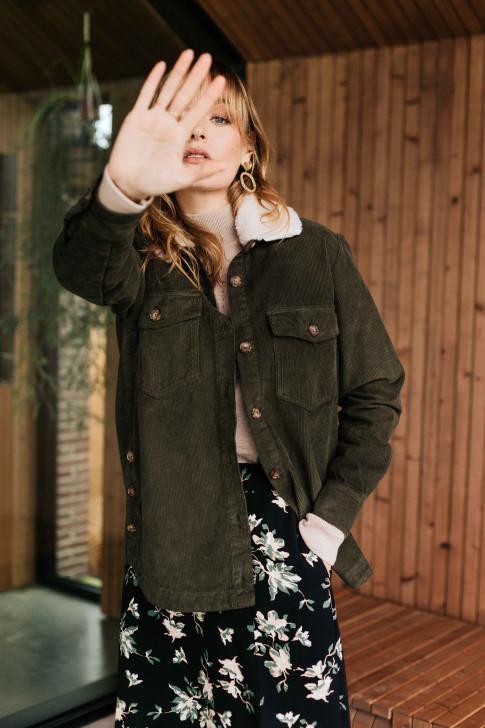 Camel Colette Skirt