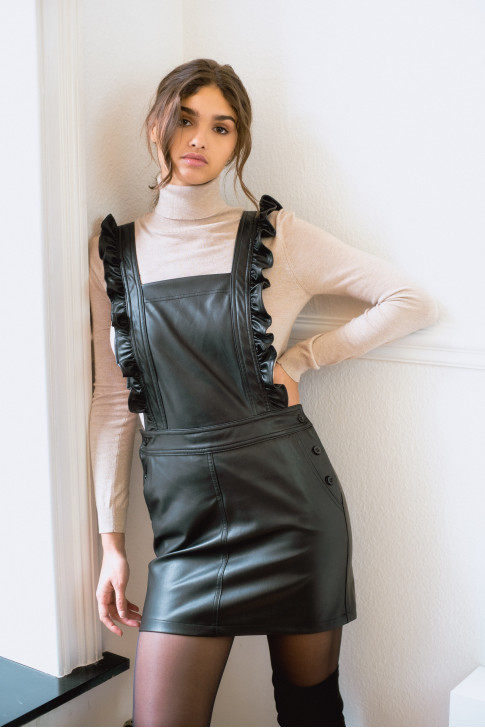 The Julia dress - faux leather