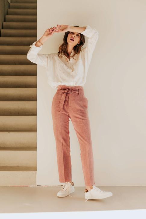 Burgundy Charlie belt