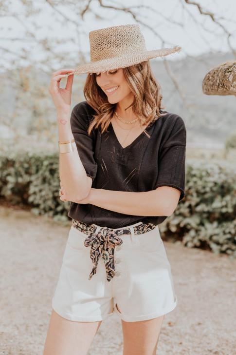 Lila black pajamas