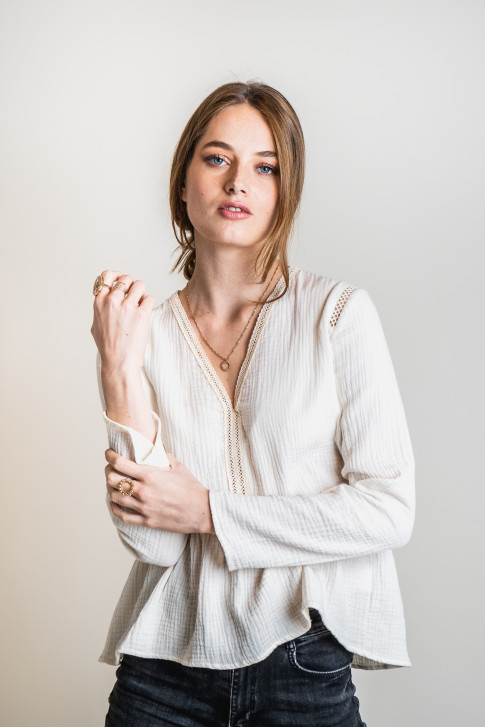 Faustine blouse