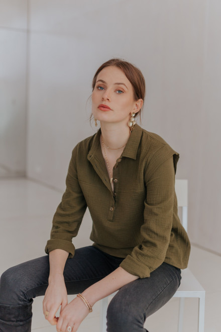 Sam shirt in khaki