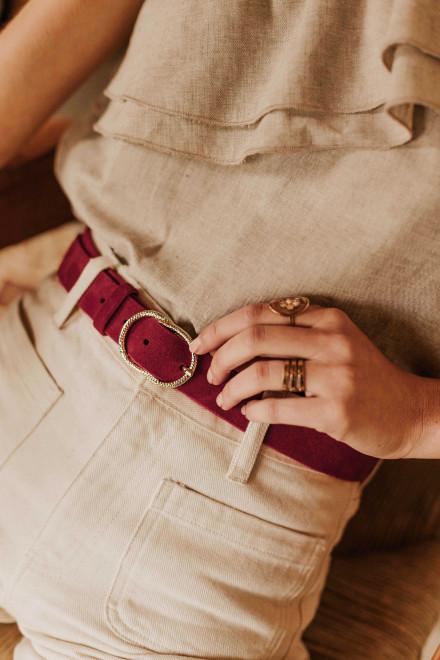Blue capucine sweater