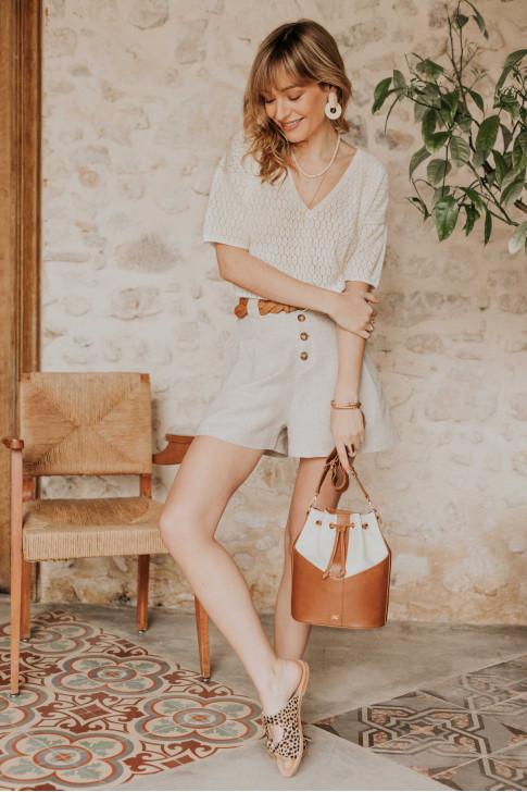 Grey Joséphine sweater
