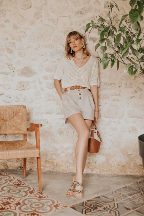 Terracotta Charlotte shirt
