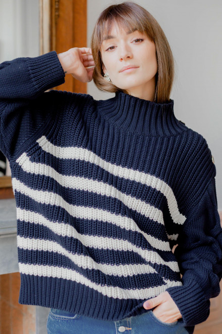Striped Éléonore sweater