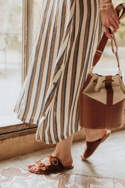 Bérénice printed léo skirt