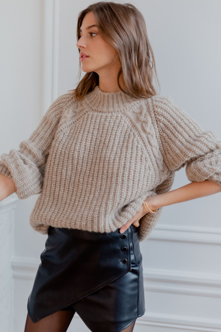 Pull Gaspard gris