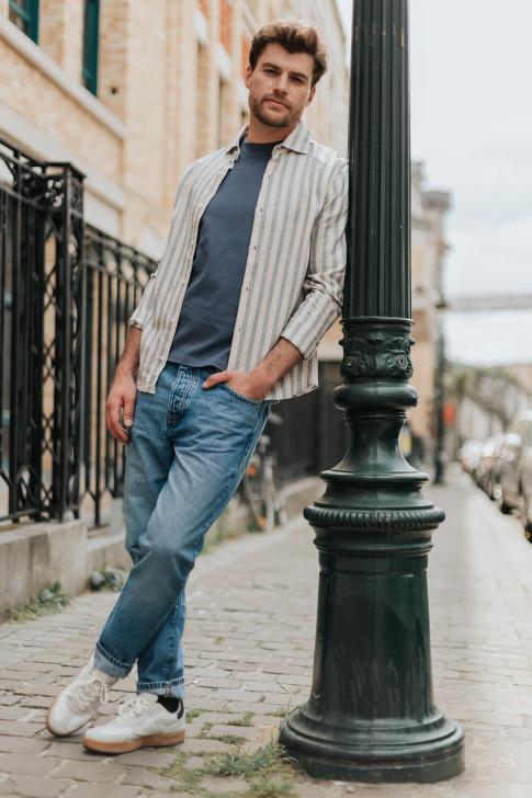 Léon belt in black