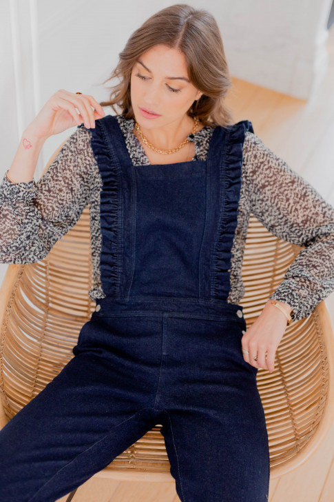 Raw blue Jules Overalls
