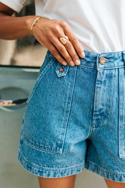 Abstract print Julie shirt