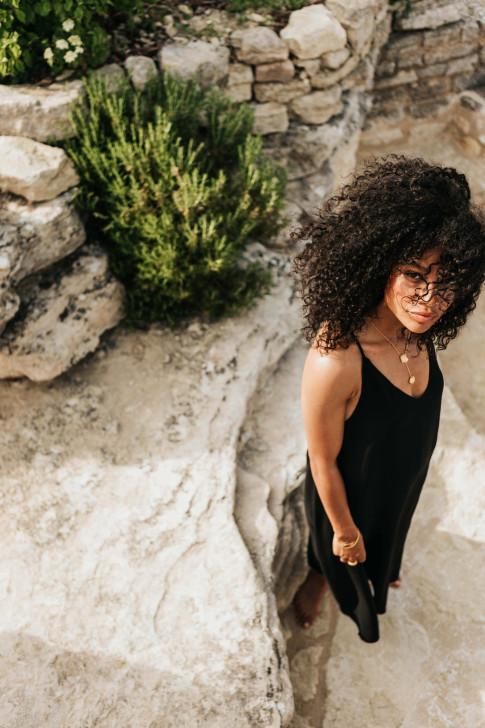Beige Alice sweater dress
