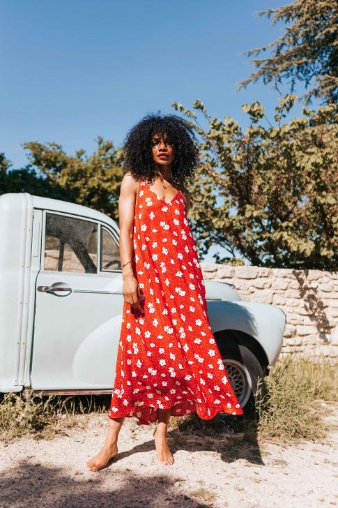 Abstract print Manon skirt