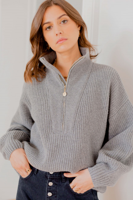 Gabin grey sweater