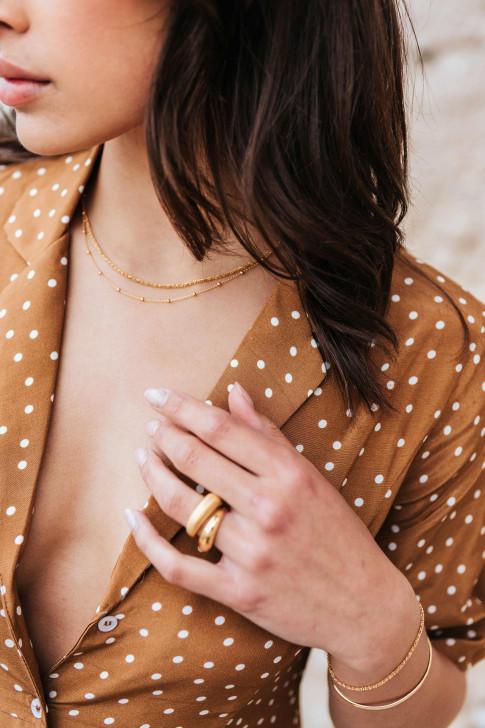 Olive Amazon print dress
