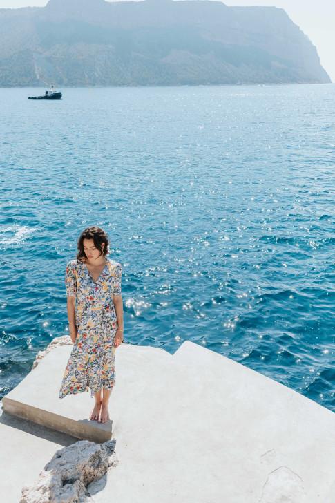 Kate Indian flower print dress