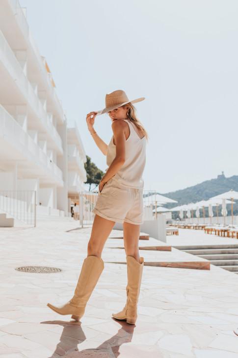 Leila Indian flower print scarf
