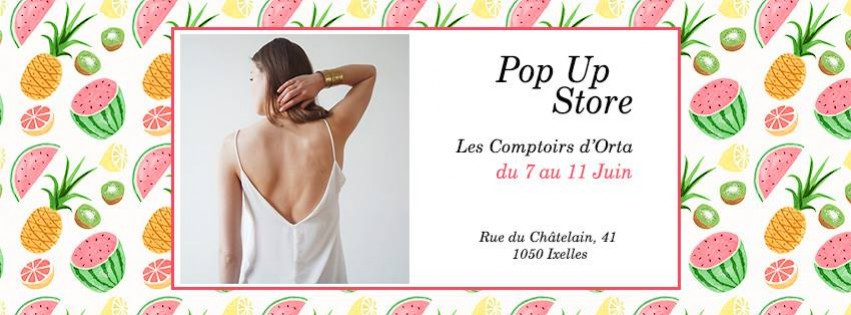 POP UP STORE - Summer is Coming